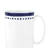 Kate Spade Charlotte Street East Mug Navy ONE