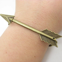 The Hunger Game Arrow Bracelet Cuff Bracelet B518