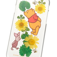 [Disney Store]Pooh pressed flower iPhone 6/6s smartphone case cover: If you want to buy presents and gifts online, we recommend the Disney Store.