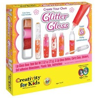 Create Your Own Glitter Lip Gloss