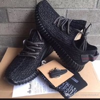Yeezy Boost 350 V2 Low Pirate Black Size 10 - Ready Stock