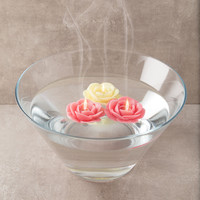 Floating Rose Candle Gift Set