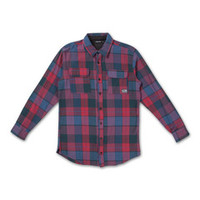 Speed Promo Flannel in Red – Pink+Dolphin