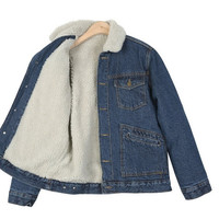 Denim jacket - Joy - Denim jackets - Jackets & Outerwear - Women - Modekungen