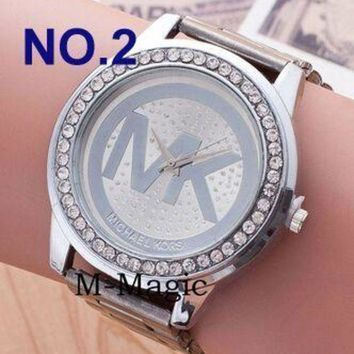 MICHAEL KOR WATCHES FASHION CASUAL WOMENS/MENS MK WATCH ROSE GOLD