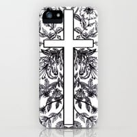King Cross Floral iPhone Case by Claire Laffut | Society6