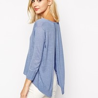 River Island Split Back Jumper