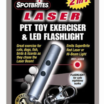Ethical Pet Products Laser Light Cat Toy & Flashlight Exerciser