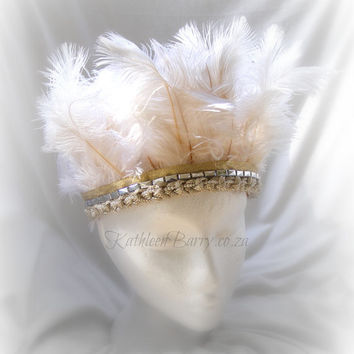 R650 Feather crown - Ivory