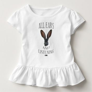 All Ears Toddler Design by Kat Worth Toddler T-shirt
