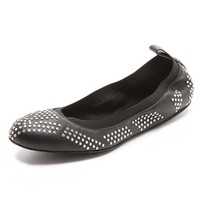 See by Chloe Studded Elastic Ballet Flats | SHOPBOP | Use Code: EXTRA25 for 25% Off Sale Items