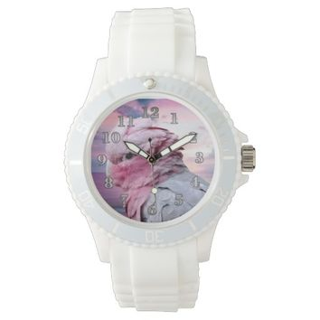 Parrots Women's Sporty Silicon Watch