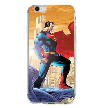 "Superman - Man of Steel TPU Silicone Case for Iphone 6/6s (4.7"")"