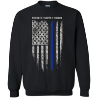 thin blue line shirt - police officer