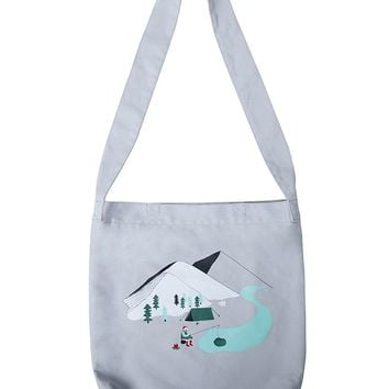 YiZi Grey Fishing Tote