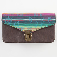Tribal Web Lock Wallet Brown One Size For Women 23505440001