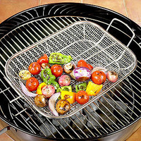 Stainless Steel Mesh Roasting Pan | Outdoor Dining| Kitchen & Dining | World Market