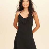 Girls Ruffle Knit Dress | Girls Dresses & Rompers | HollisterCo.com