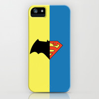 BatversusSuper(Man) iPhone & iPod Case by Page394