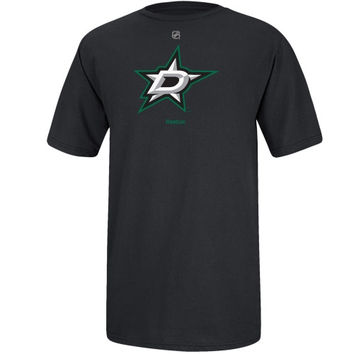 Reebok Dallas Stars 2013 Primary Logo T-Shirt - Black - http://www.shareasale.com/m-pr.cfm?merchantID=7124&userID=1042934&productID=540333230 / Dallas Stars