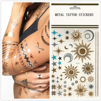 Metallic Tattoos- Celestial
