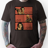 The Good, The Bad and The Shiny (Firefly / Serenity mashup) Unisex T-S