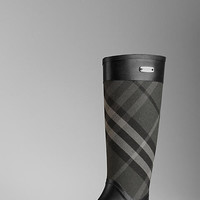 Check Panel Rainboots