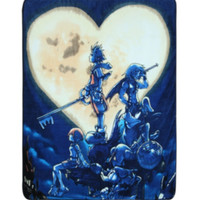 Disney Kingdom Hearts Moon Super Plush Throw