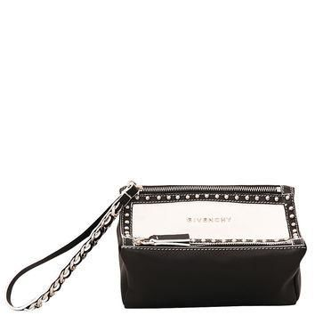 Givenchy Pandora Evening leather pochette with studs