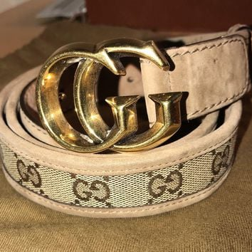 Gucci woman belt GG 95/38
