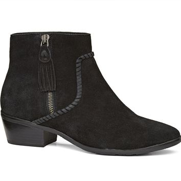 Dylan Suede Bootie