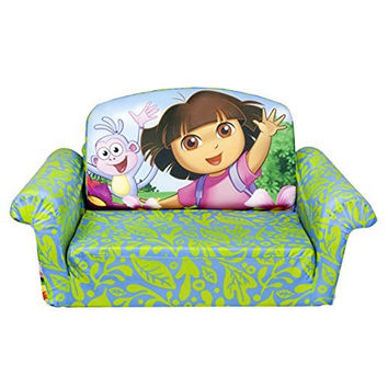 Marshmallow Furniture, Flip Open Sofa, Dora