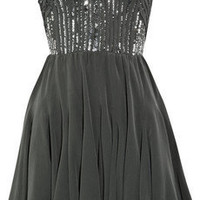 Rebecca Taylor Strapless silk dress - 50% Off Now at THE OUTNET