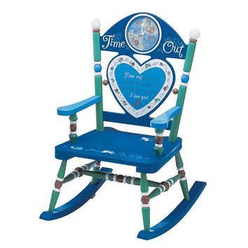 Levels of Discovery Time-Out Rocking Chair - Blue