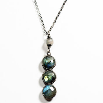 Labradorite Layering Necklace ON SALE
