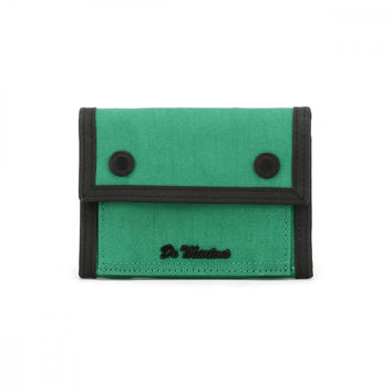 Dr. Martens Green Fine Canvas Utility Wallet