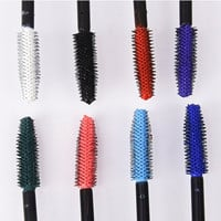 1pcs Pro Makeup Waterproof Mascara Lengthen Eyelashes Mascara Long Lasting Easy Remove Colorful Mascaras