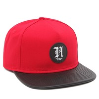 Neff Simple Snapback Hat - Mens Backpack - Red - One