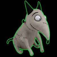 Halloweentown Store: Frankenweenie After-Life Sparky Plush