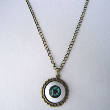 Funny single eye necklace -Best for you or her 900c1e28b1