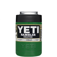 YETI Green Gloss Colster Can Cooler & Bottle Insulator