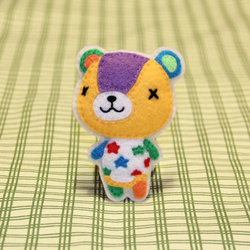 "Fridge Magnet! Animal Crossing's ""Stitches"""