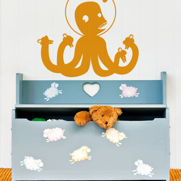 Vinyl Wall Decal Sticker Alien Invader #OS_MB106