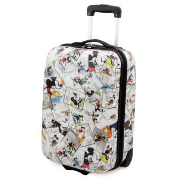 Minnie and Mickey Mouse Comics Luggage -- 25'' | Luggage & Accessories | Disney Store