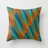 Propogation Throw Pillow by David Lee