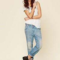 Free People Womens Carpenter Jean - Aquamarine, 29