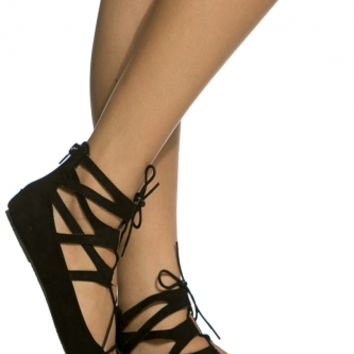 Black Faux Suede Lace Up Pointed Toe Flats @ Cicihot Flats Shoes online store:Women's Casual Flats,Sexy Flats,Black Flats,White Flats,Women's Casual Shoes,Summer Shoes,Discount Flats,Cheap Flats,Spring Shoes