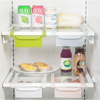 storage boxes Refrigerator fresh spacer layer creative kitchen Accessories tools multi-functional Drawer storage rack,LB1513