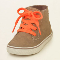 baby boy - shoes - bold mid-top sneaker | Children's Clothing | Kids Clothes | The Children's Place