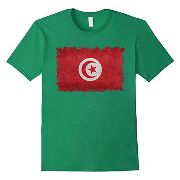 Vintage Flag of Tunisia T-Shirt